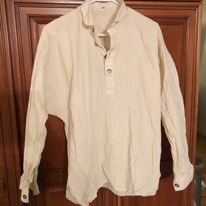 Shirts - NWOT old style linen shirt